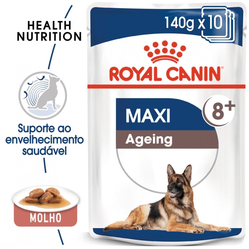 Royal Canin Maxi Ageing 8+ Cão sénior - Em mousse