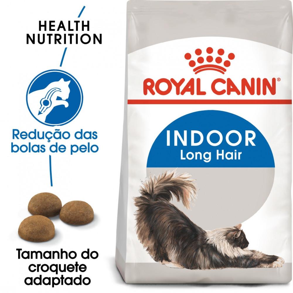 Ração para gato Royal Canin Indoor Long Hair
