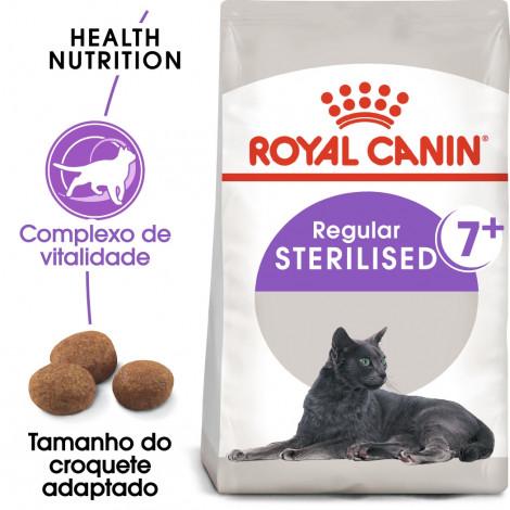 Royal Canin Sterilised 7+ Gato adulto