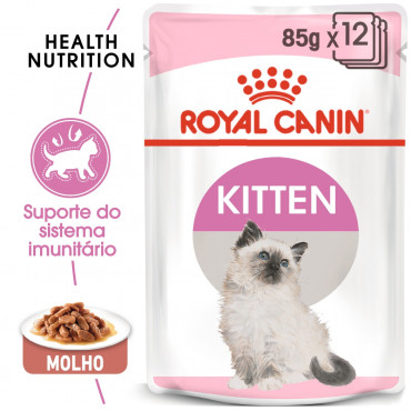 Ração para gato Royal Canin Wet Kitten Gravy