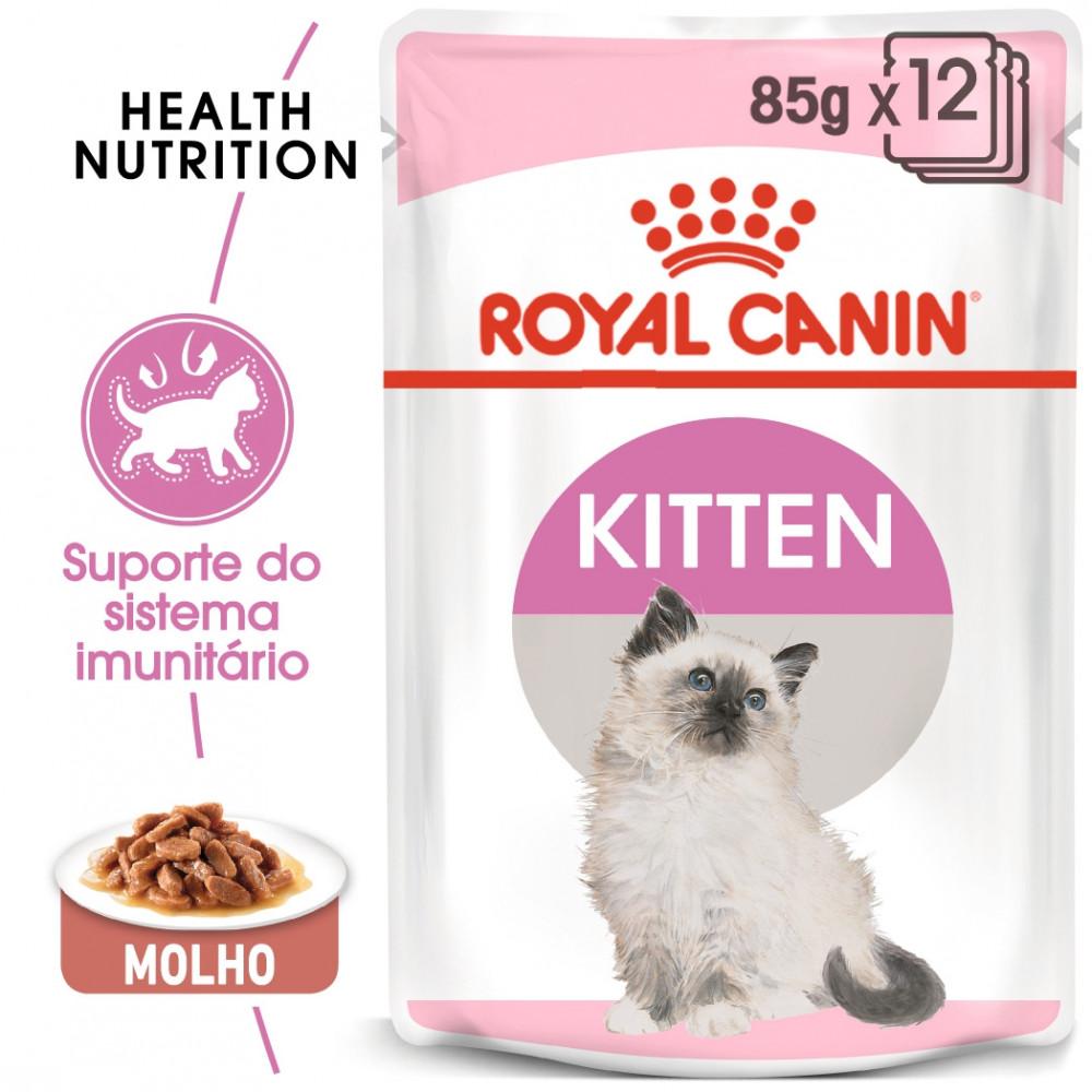 Royal Canin Gato Kitten Ração húmida em molho para gatinho