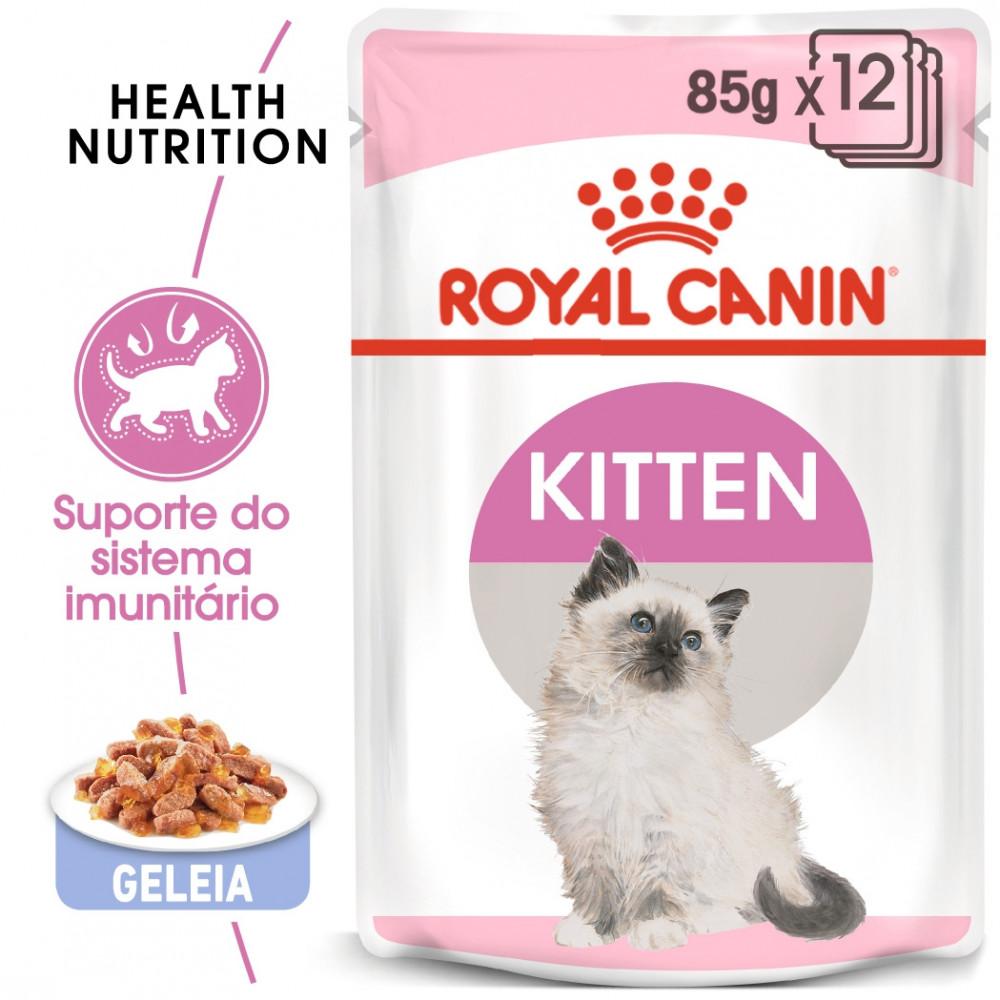 Royal Canin Gato Kitten - Em geleia