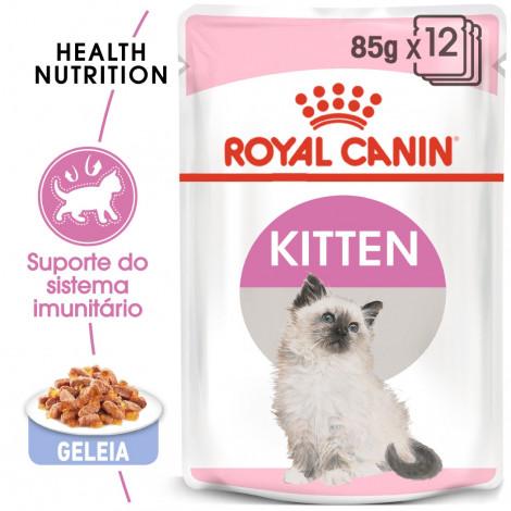 Royal Canin Kitten - Ração húmida em geleia para gatinhos