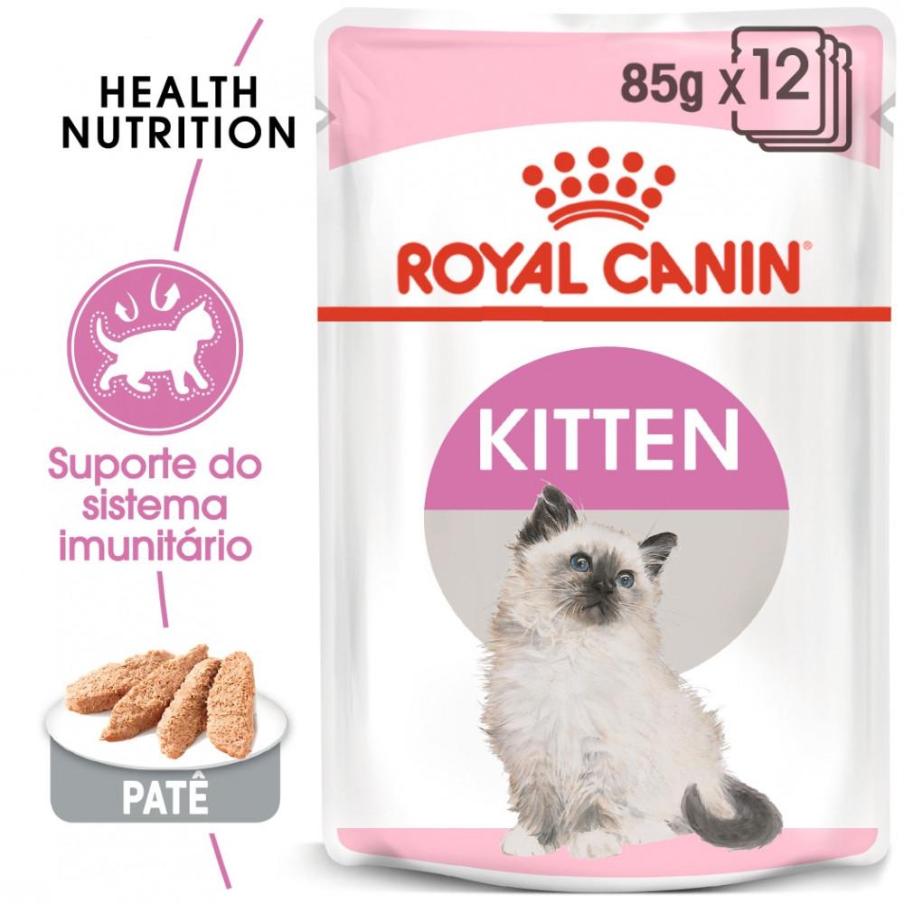 Royal Canin Gato Kitten - Em patê