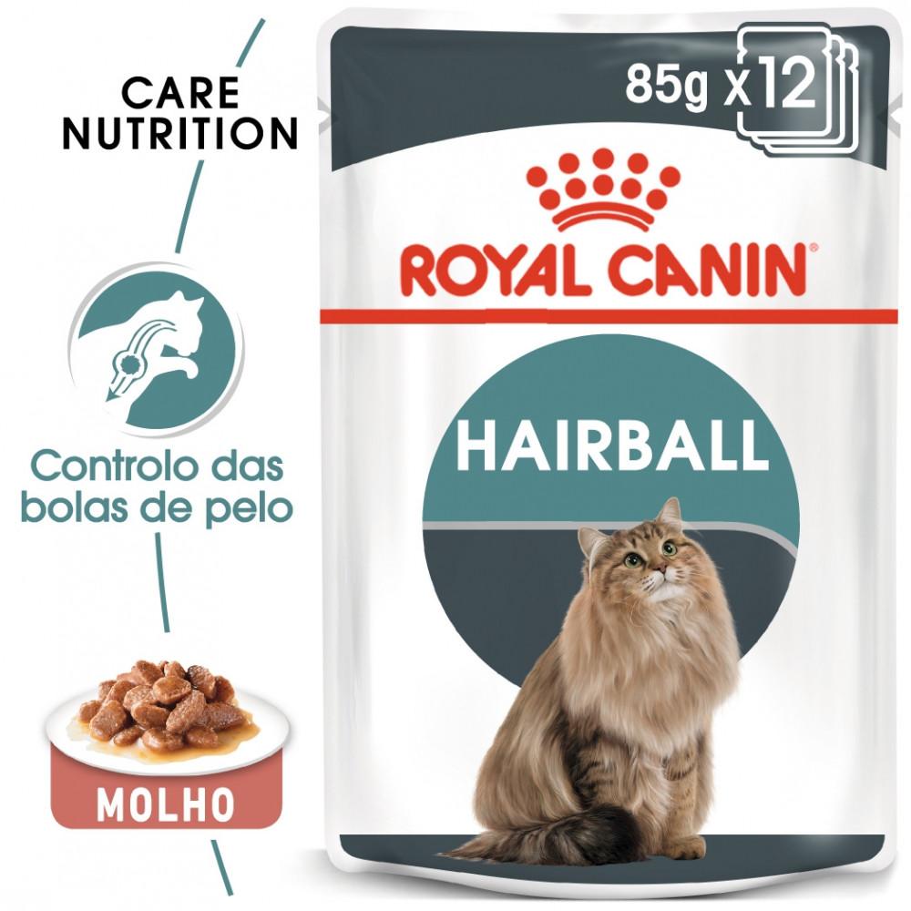 Royal Canin Hairball Gato adulto - Em molho