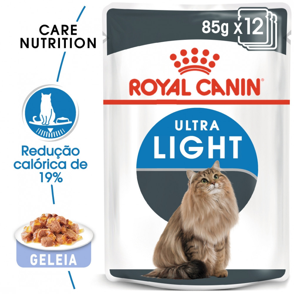 Royal Canin Ultra Light Gato adulto - Em geleia