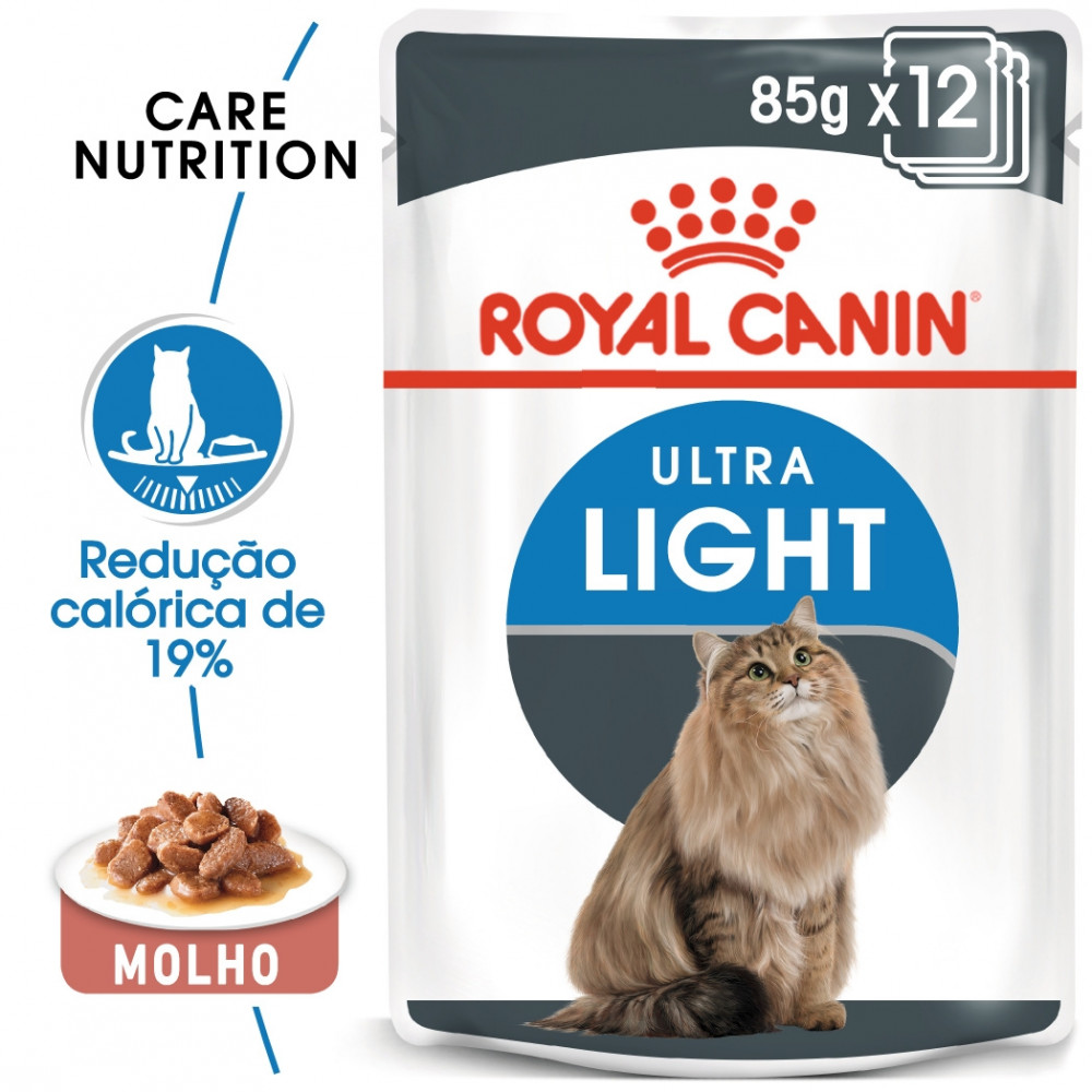 Royal Canin Ultra Light Gato adulto - Em molho