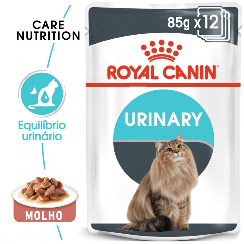 Royal Canin Urinary Gato adulto - Em molho