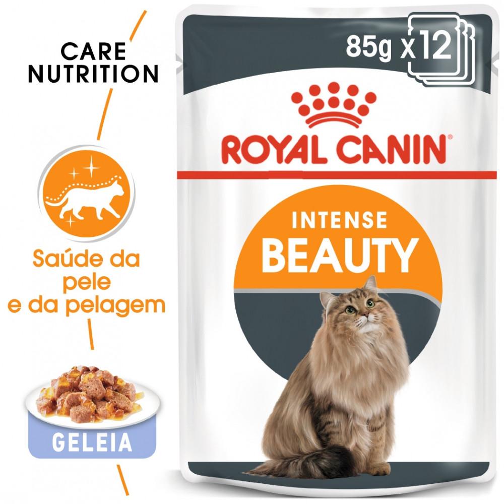 Royal Canin Intense Beauty Gato adulto - Em geleia