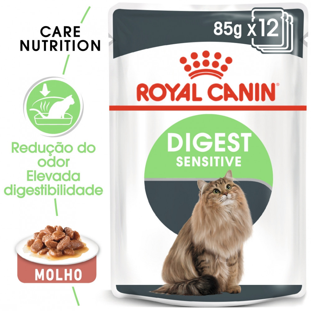 Royal Canin Digest Sensitive Gato adulto - Em molho