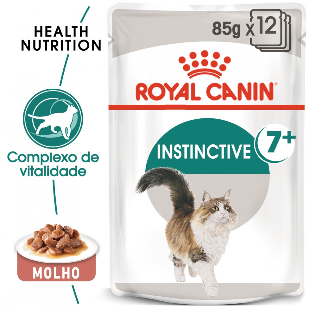 Royal Canin Instinctive 7+ Gato adulto - Em molho