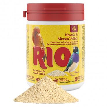 RIO Vitaminas e minerais para canários e pequenas aves