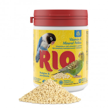 RIO Vitaminas e minerais para periquitos