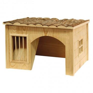 Kerbl Casa de madeira para roedores