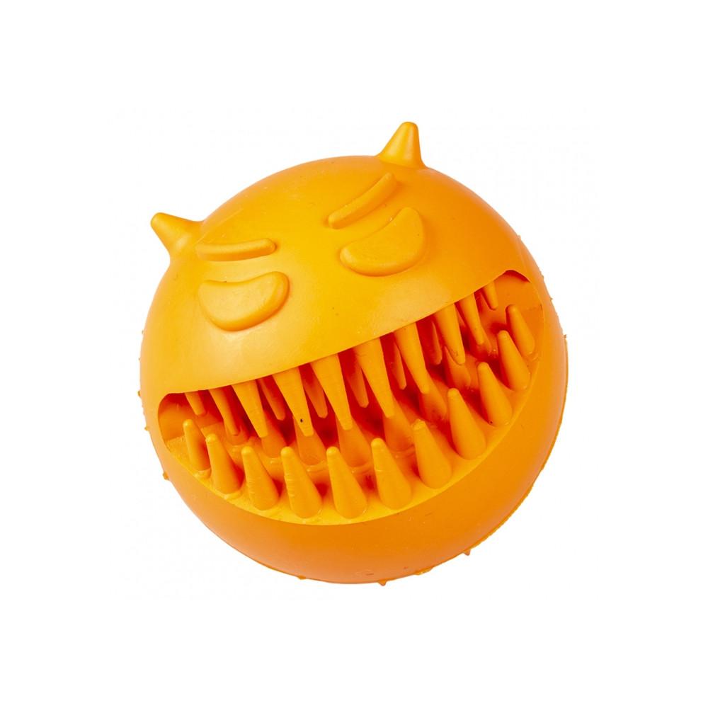 Duvo+ Bola de borracha para cão - Cara zangada