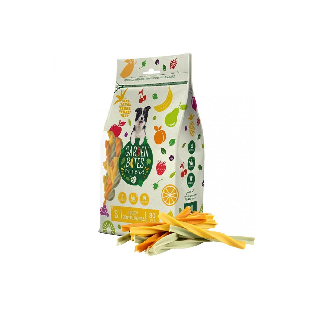 Duvo+ Garden Bites Fruity dental swirls