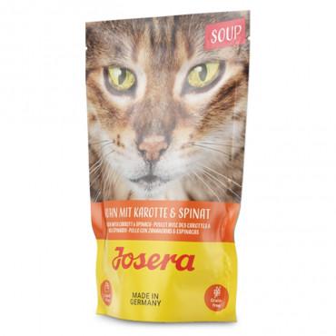 Josera Soup Gato adulto - Sopa de frango, cenoura e espinafres