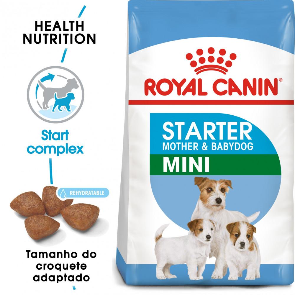 Royal Canin Cão Starter Mother & Babydoog Mini