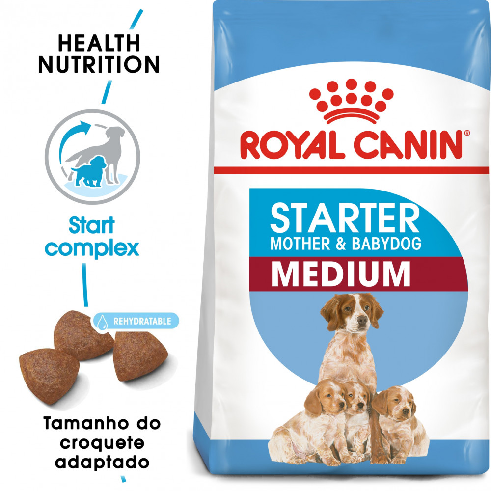 Royal Canin Cão Starter Mother & Babydog Medium