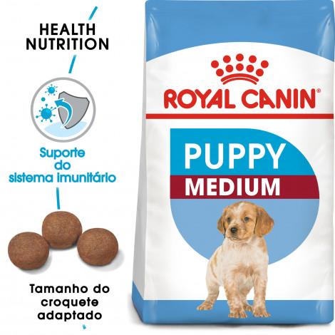 Royal Canin Cão Puppy Medium