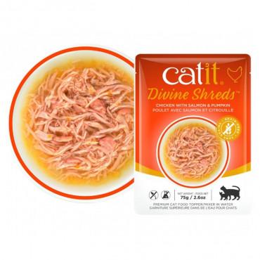 Catit Sopa de salmão e abóbora
