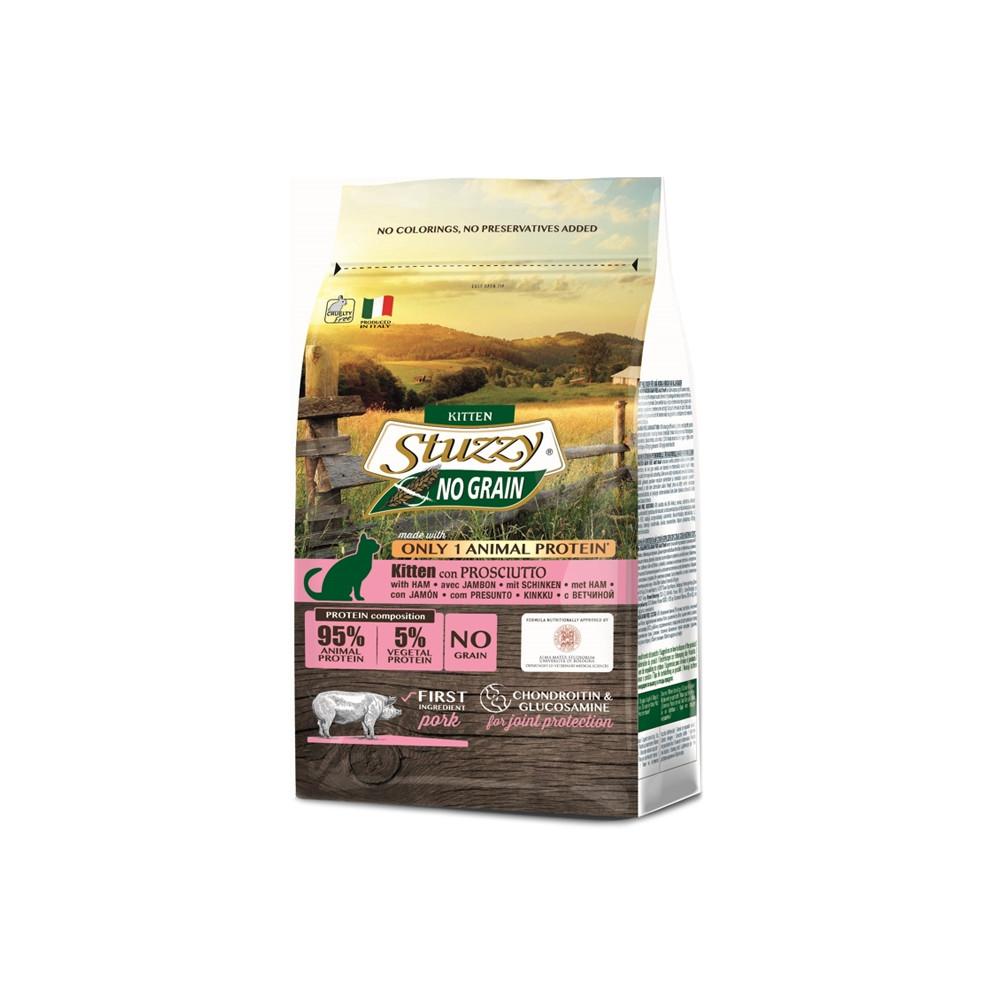 Stuzzy Kitten GRAIN FREE c/Presunto 1.5kg