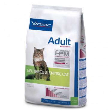 Virbac Veterinary Gato adulto Neutered & Entire - Salmão