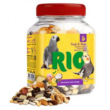 RIO Mix de frutas e nozes para aves
