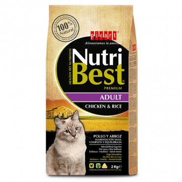 NutriBest Gato adulto - Frango e arroz
