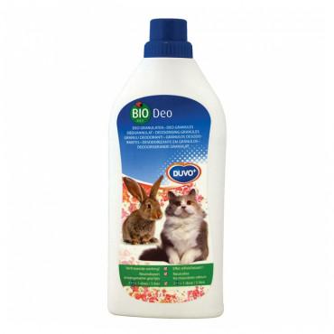 Duvo+ Desodorizante granulado biológico para gaiolas e WC