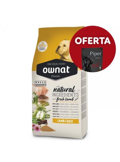 OWNAT Classic Lamb & Rice Cão adulto