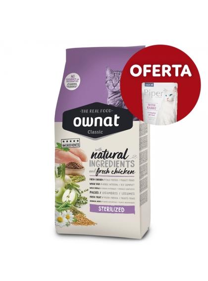 OWNAT Classic Sterilized Gato adulto - Frango