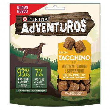 Adventuros Snacks para cão de Peru com cereais ancestrais