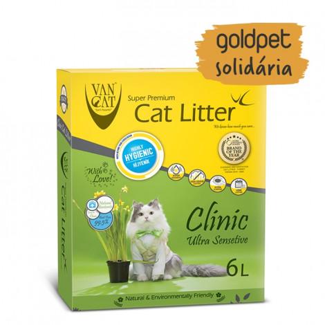 Goldpet Solidária - Vancat Clinic Areia Ultra Sensetive