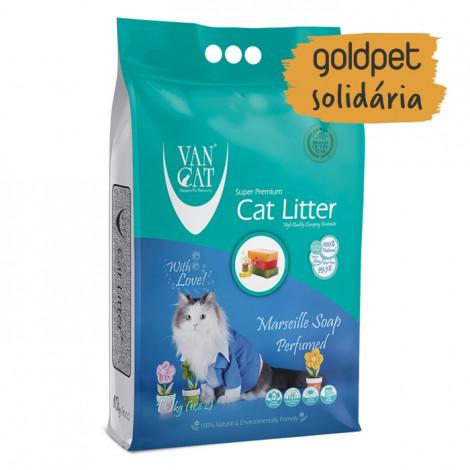Goldpet Solidária - VanCat Areia de Sabão de Marselha