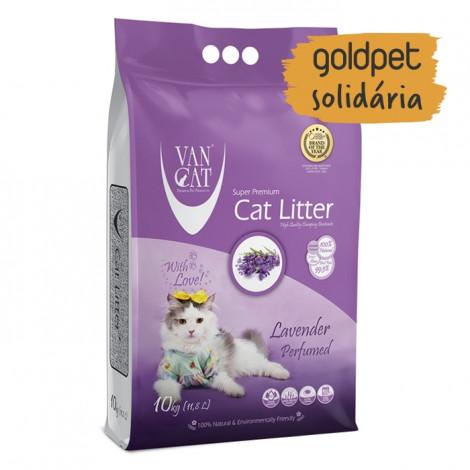 Goldpet Solidária - VanCat Areia de Lavanda