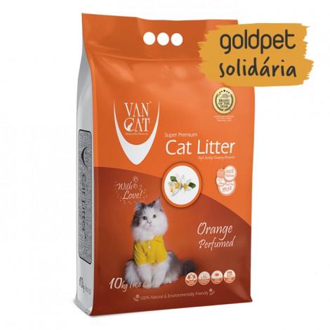 Goldpet Solidária - VanCat Areia de Laranja