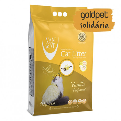 Goldpet Solidária - VanCat Areia de Baunilha