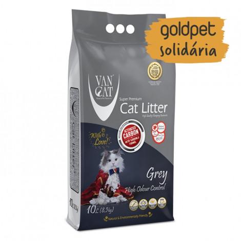 Goldpet Solidária - VanCat Areia de Carvão