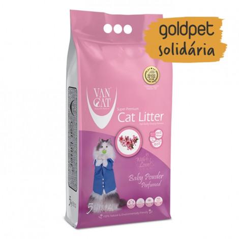 Goldpet Solidária - VanCat Areia de Talco