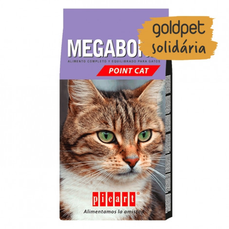 Goldpet Solidária - Picart Megabone Point Cat Gato adulto