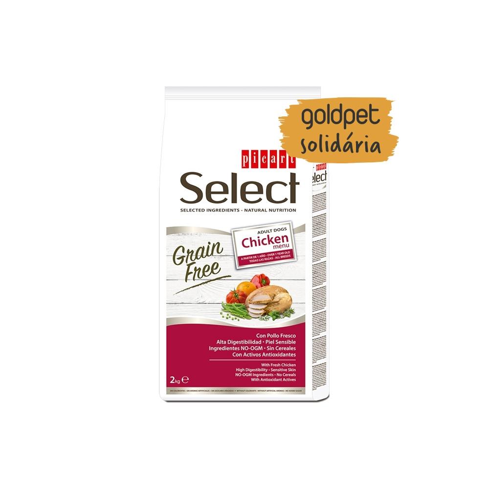 Ração Solidária Premium Cão Grain Free Frango