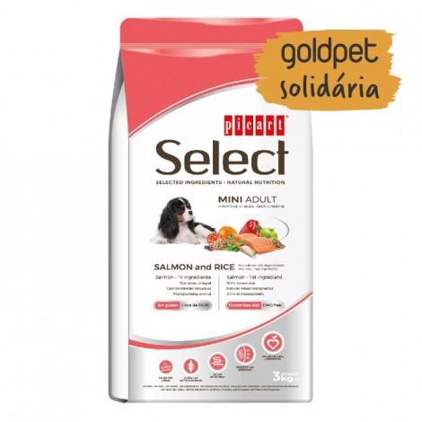 Goldpet Solidária - Picart Select Cão Mini Adulto - Salmão e arroz