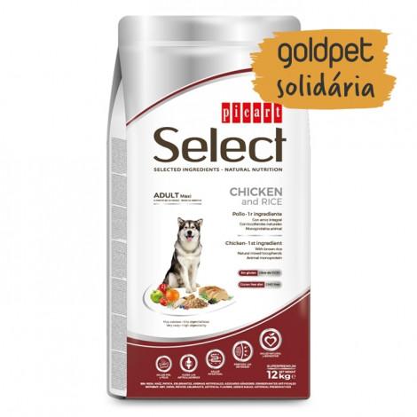Goldpet Solidária - Picart Select Cão Maxi Adulto - Frango e arroz