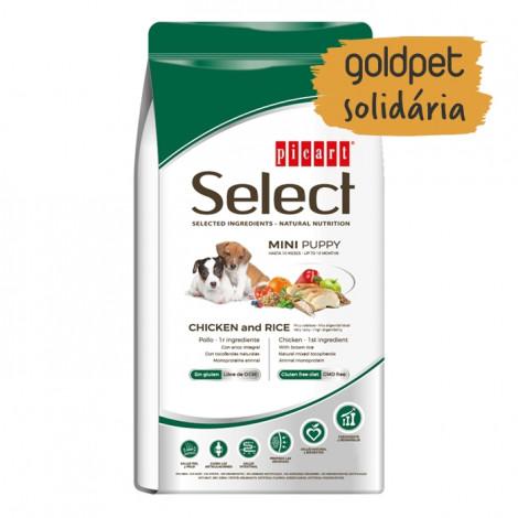 Goldpet Solidária - Picart Select Cão Puppy Mini - Frango e arroz