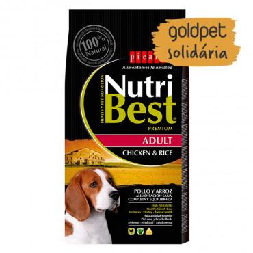 Goldpet Solidária - Picart Nutribest Cão Adulto - Frango e arroz