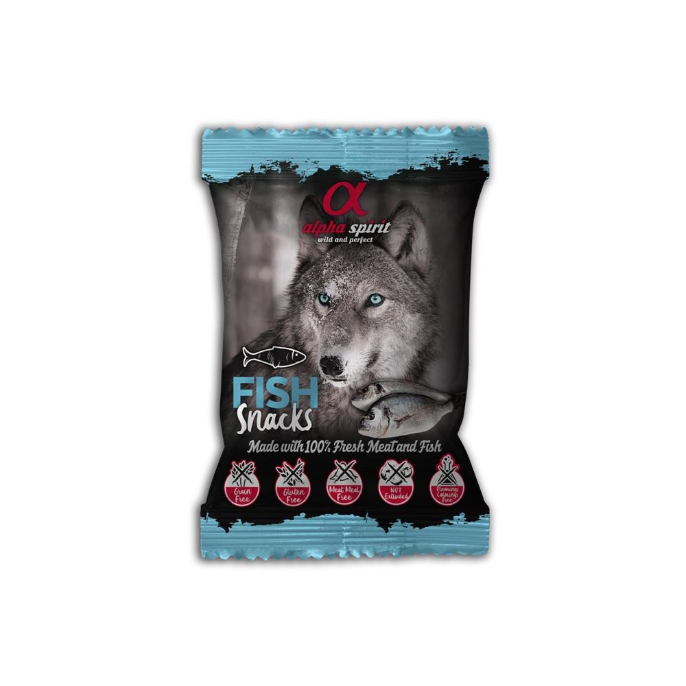 Alpha Spirit Snacks de pato para cão