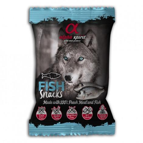 Alpha Spirit Snacks de peixe para cão
