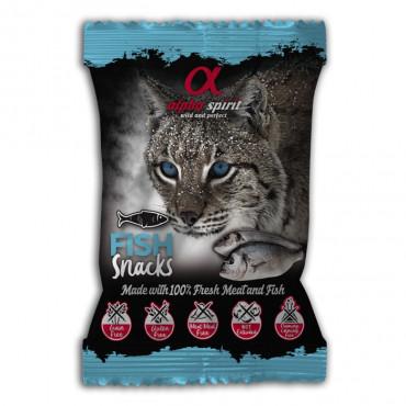 Alpha Spirit Snacks de peixe para gato