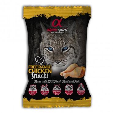 Alpha Spirit Snacks de frango para gato
